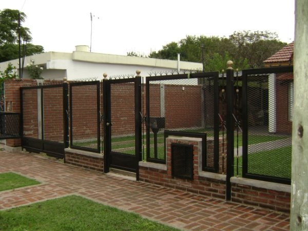 Rejas de seguridad frente de rejas for Rejas modernas para frentes de casas minimalistas