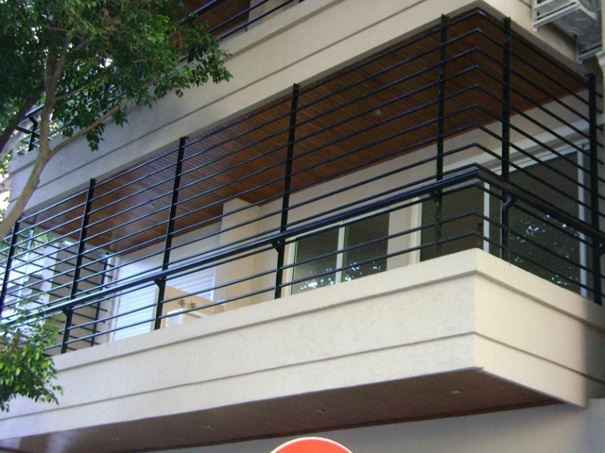 Seguridad de balcones for Balcones madera exterior